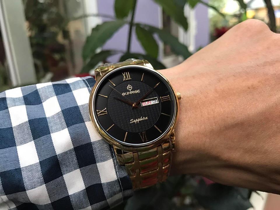 Đồng hồ nam sunrise dm694swa - kd chính hãng
