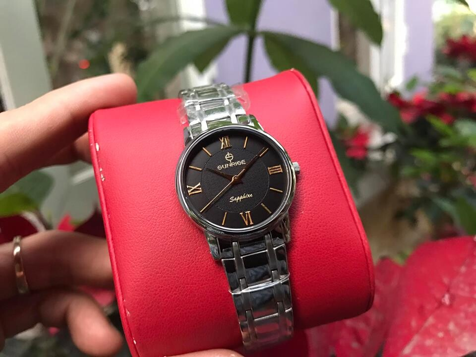 Đồng hồ nữ sunrise dm694swa - ssd chính hãng