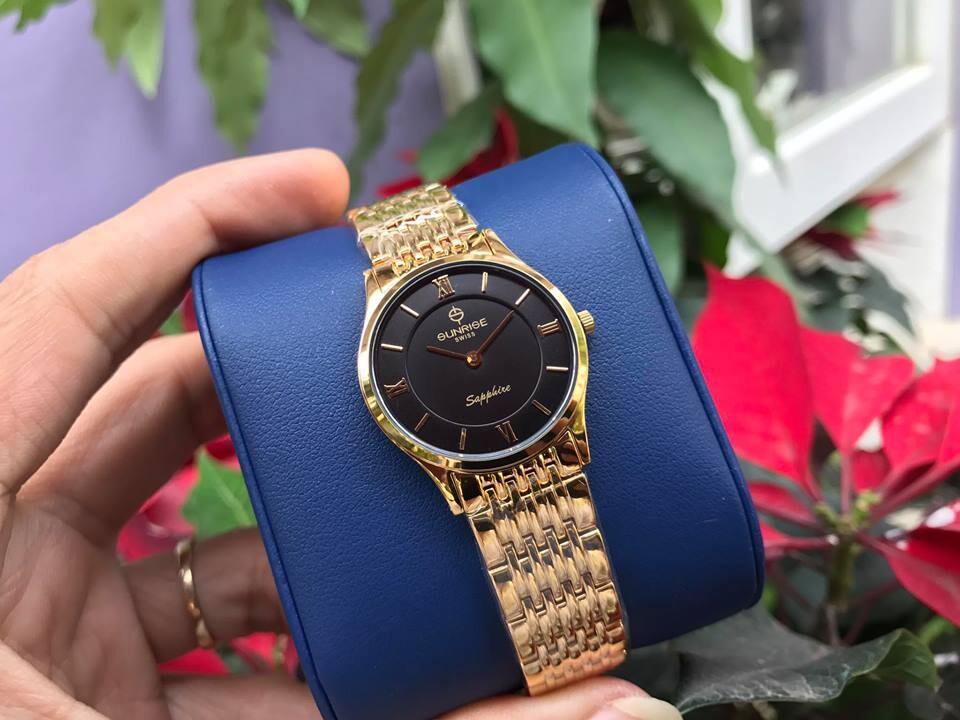 đồng hồ nữ sunrise dm736swb - kd chính hãng   hieutin.com