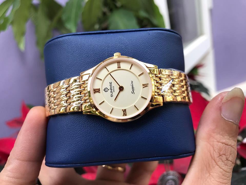 Đồng hồ đôi sunrise dm736swb - kv chính hãng