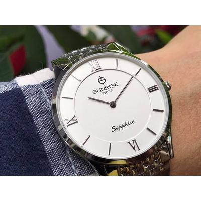 Đồng hồ nam sunrise dm736swb - sst chính hãng