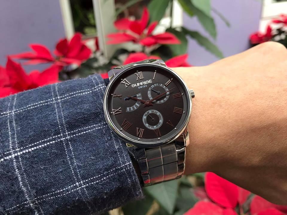 đồng hồ nam sunrise dm747swa - ssd chính hãng | hieutin.com