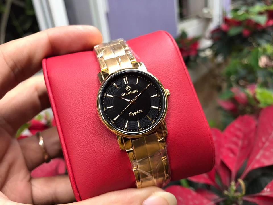 Đồng hồ nữ sunrise dm747swb - 1kd chính hãng