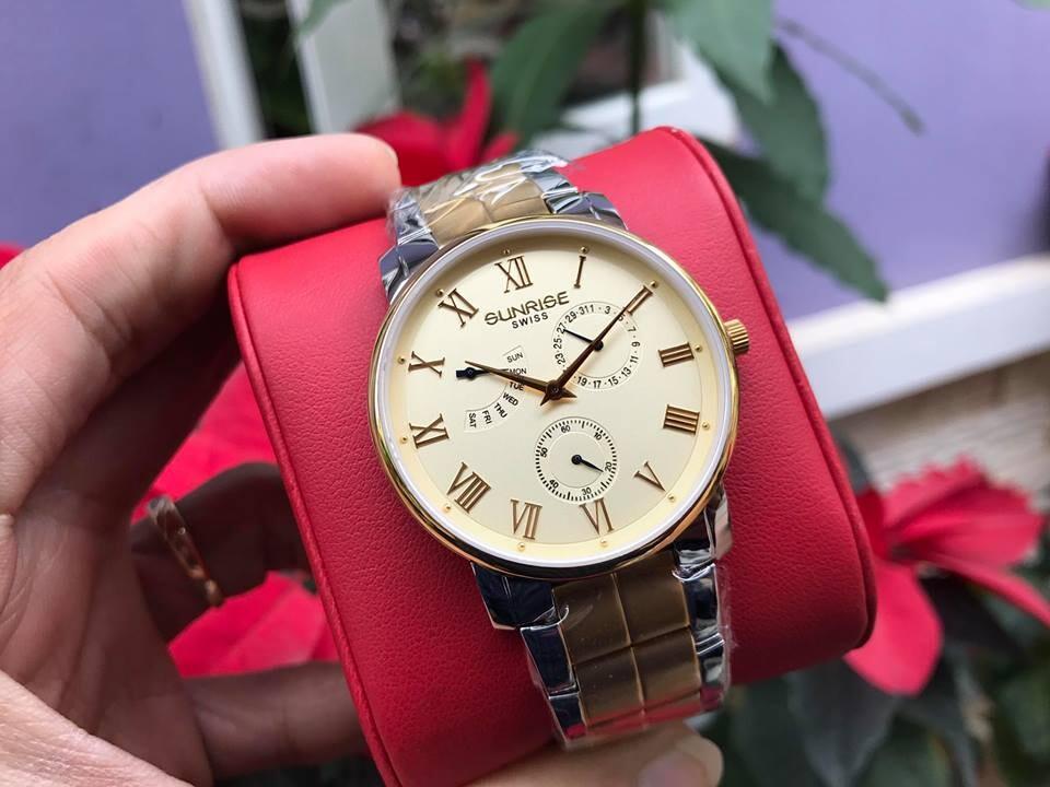 Đồng hồ nam sunrise dm747swa - skv chính hãng