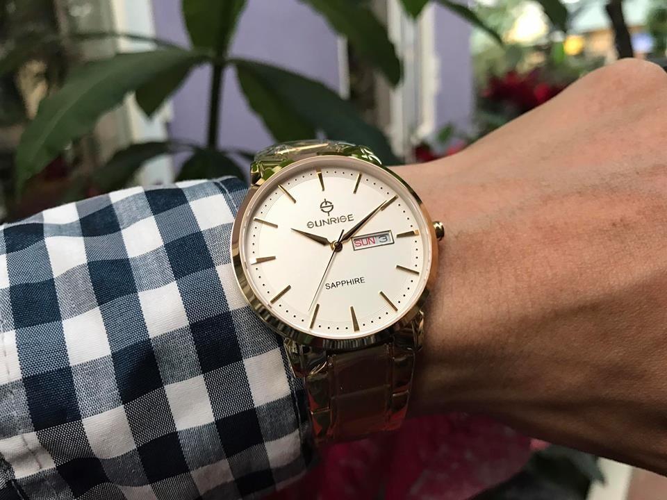đồng hồ nam sunrise dm749swa - kt chính hãng | hieutin.com