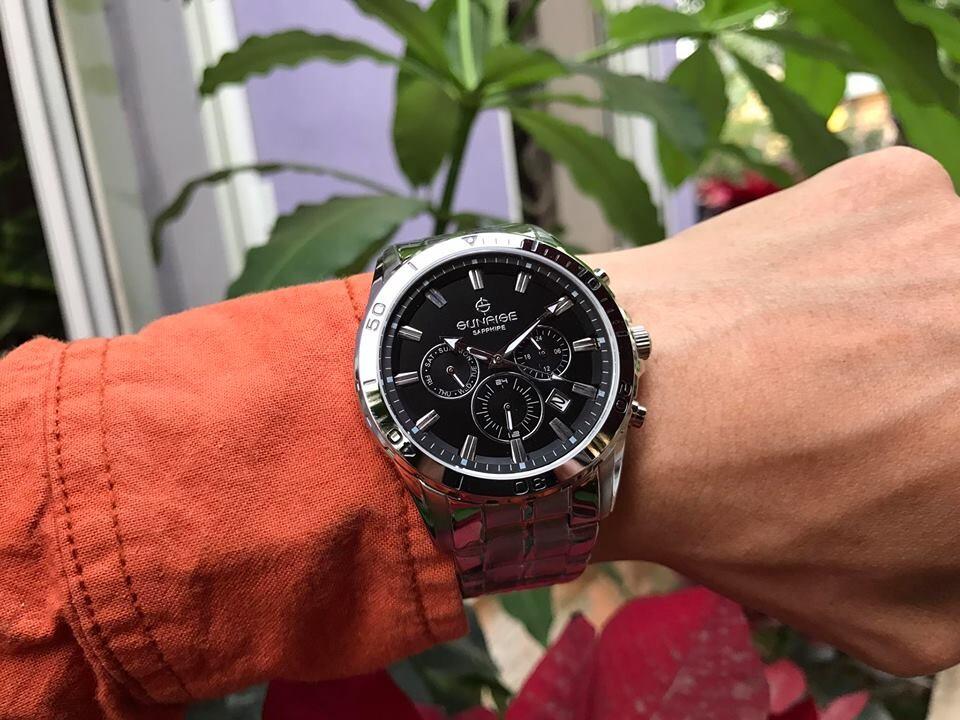 đồng hồ nam sunrise dm783swa - ssd chính hãng | hieutin.com