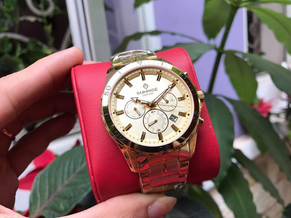 Đồng hồ nam sunrise dm760swa - kv chính hãng