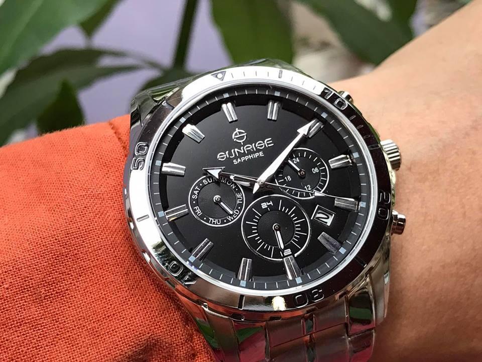 Đồng hồ nam sunrise dm760swa - ssd chính hãng