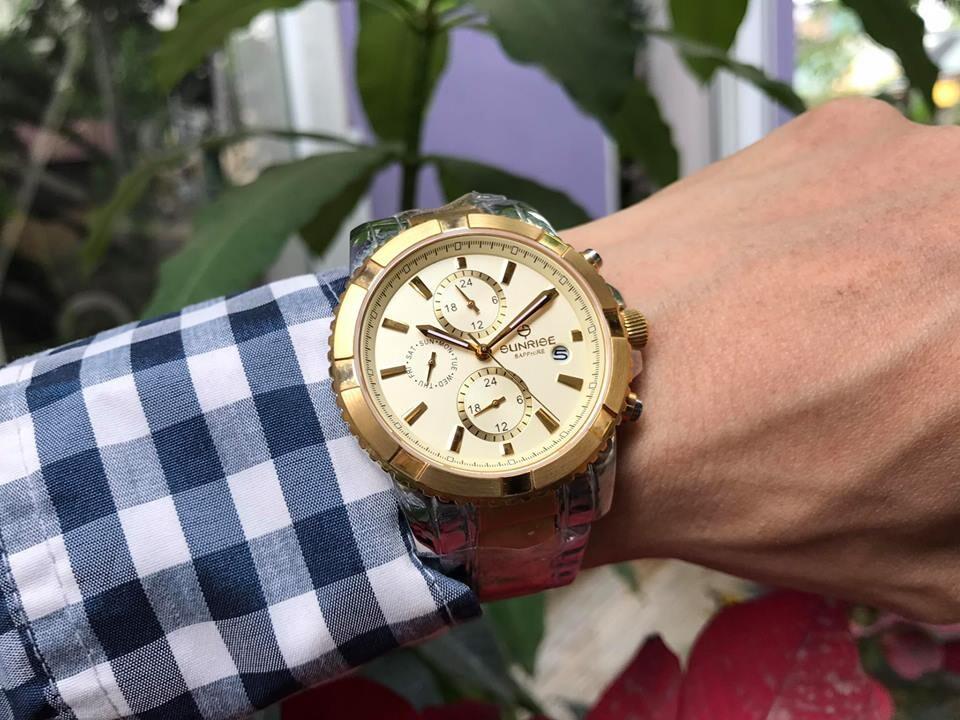 đồng hồ nam sunrise dm762swa - skv chính hãng | hieutin.com