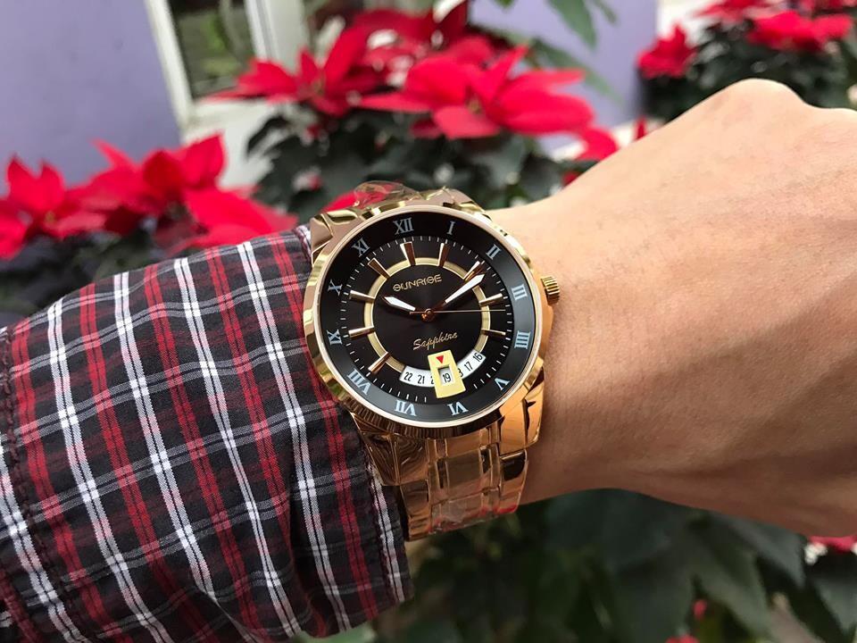 Đồng hồ nam sunrise dm771swa - kd chính hãng