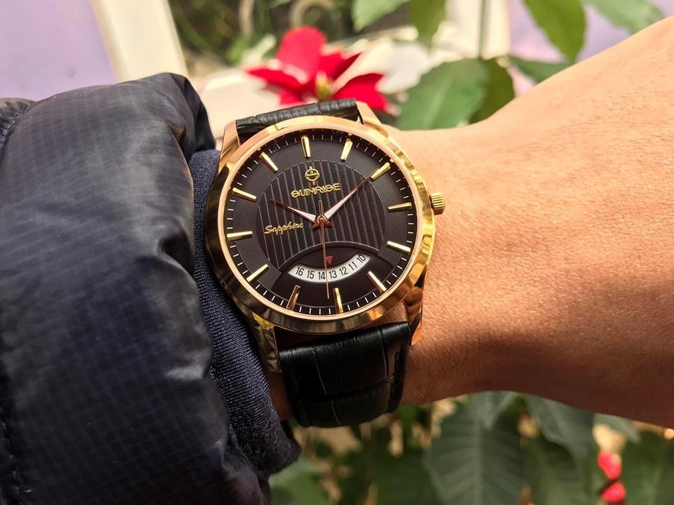 đồng hồ nam sunrise dm776pwa - lkd chính hãng | hieutin.com