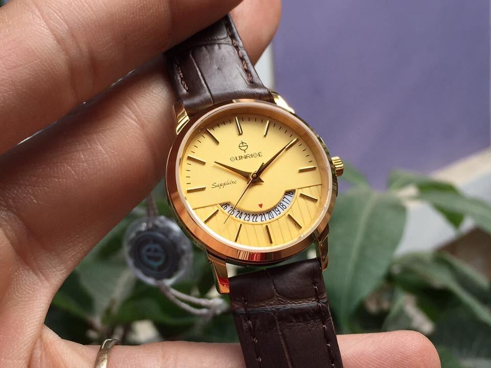 đồng hồ nữ sunrise dm779pwa