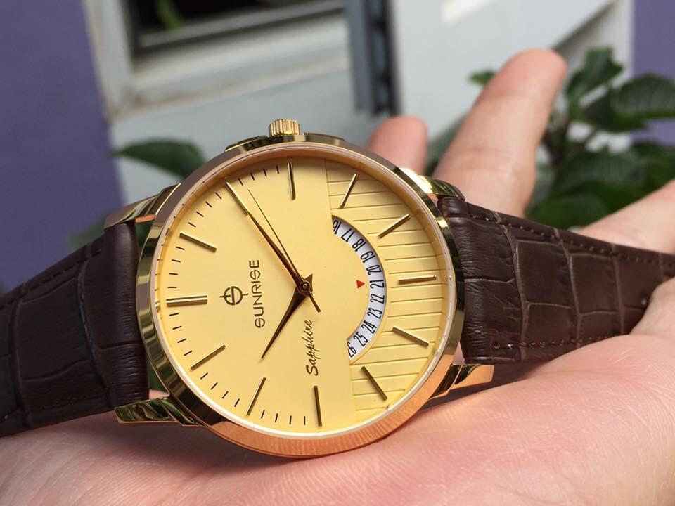 Đồng hồ nam sunrise dm779pwa - kv chính hãng