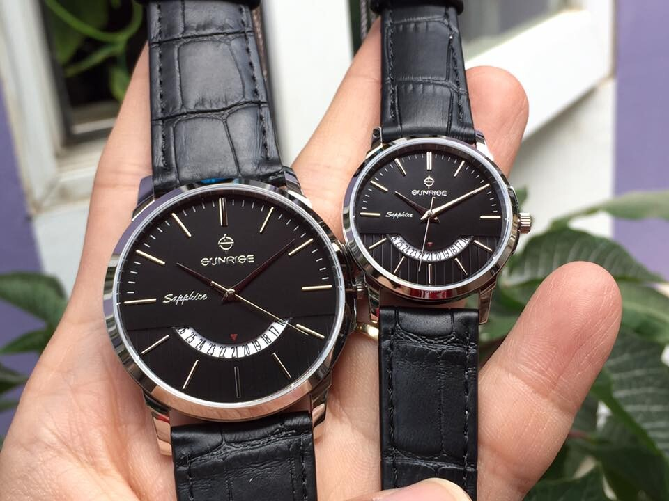 Đồng hồ đôi sunrise dm779pwa - ssd chính hãng