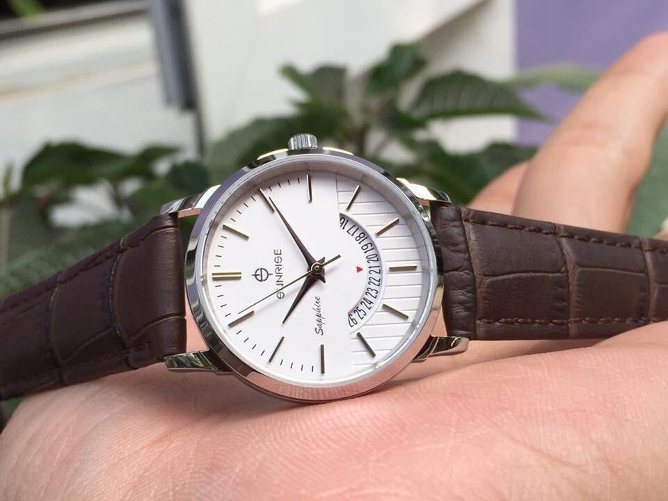 Đồng hồ đôi sunrise dm779pwa - sst chính hãng
