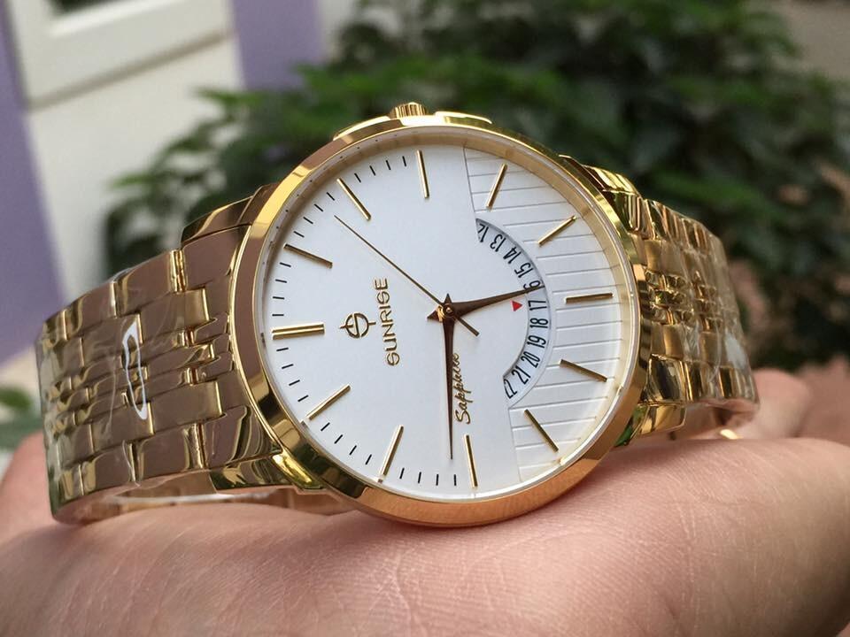 Đồng hồ đôi sunrise dm779swa - kt chính hãng