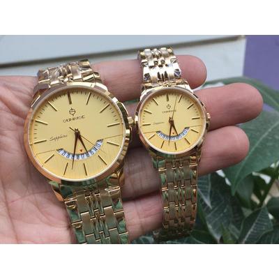 Đồng hồ đôi sunrise dm779swa - kv chính hãng