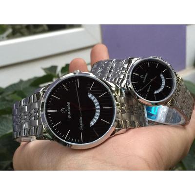 Đồng hồ đôi sunrise dm779swa - ssd chính hãng