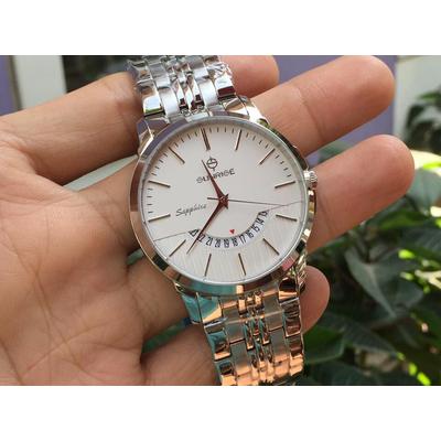 Đồng hồ nam sunrise dm779swa - sst chính hãng