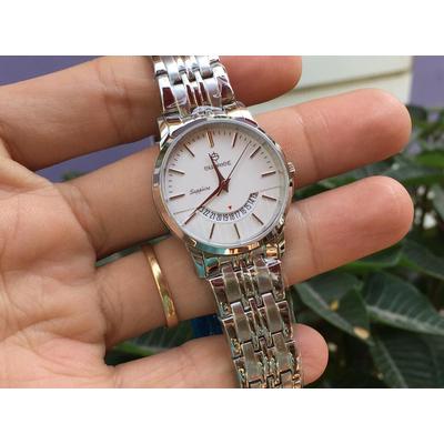 Đồng hồ nữ sunrise dm779swa - sst chính hãng