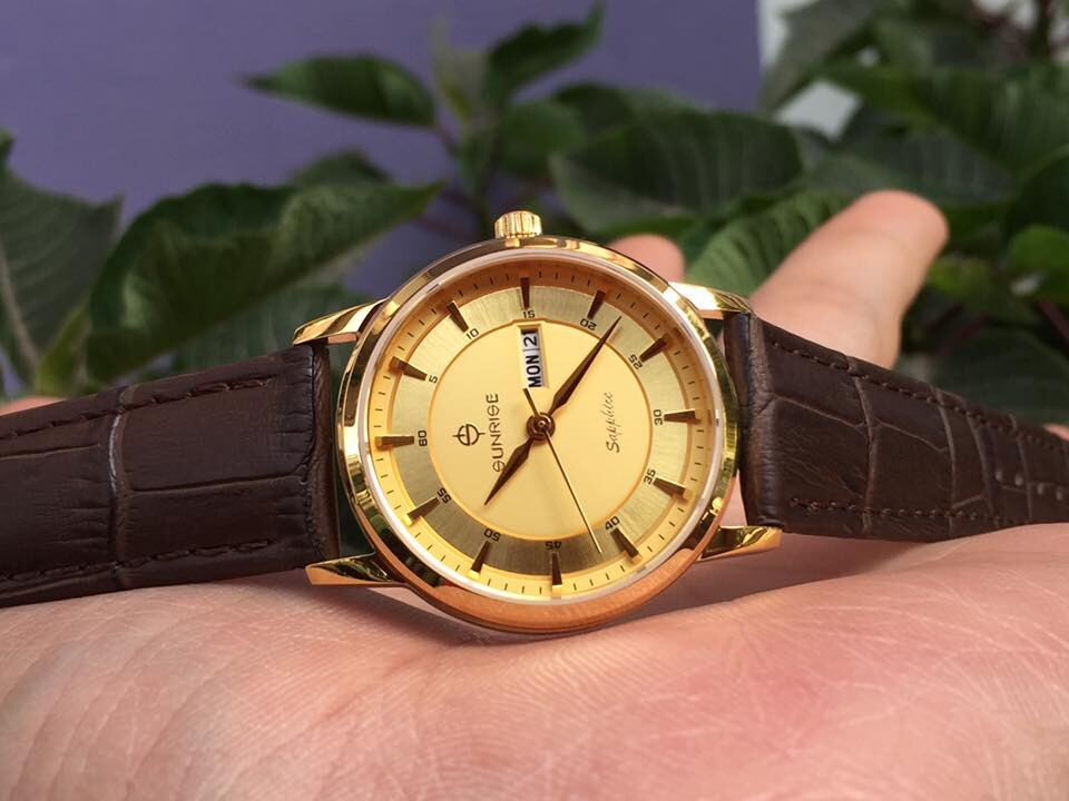 Đồng hồ nữ sunrise dm780pwa - kv chính hãng