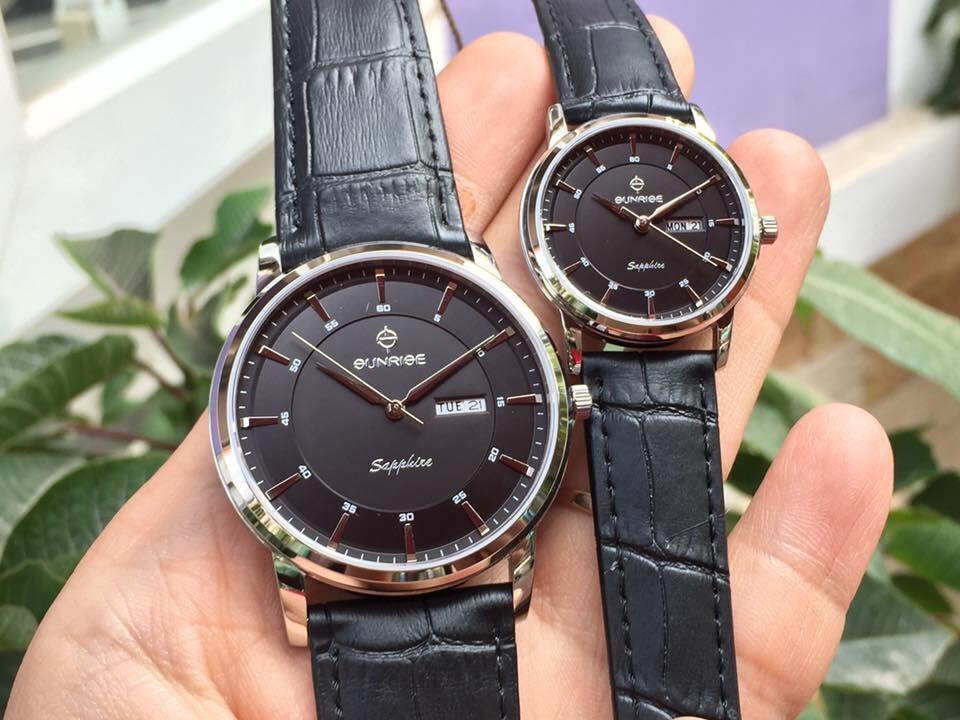 Đồng hồ đôi sunrise dm780pwa - ssd chính hãng