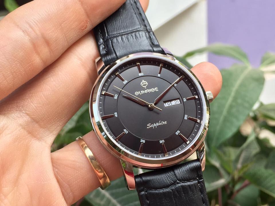 Đồng hồ nam sunrise dm780pwa - ssd chính hãng