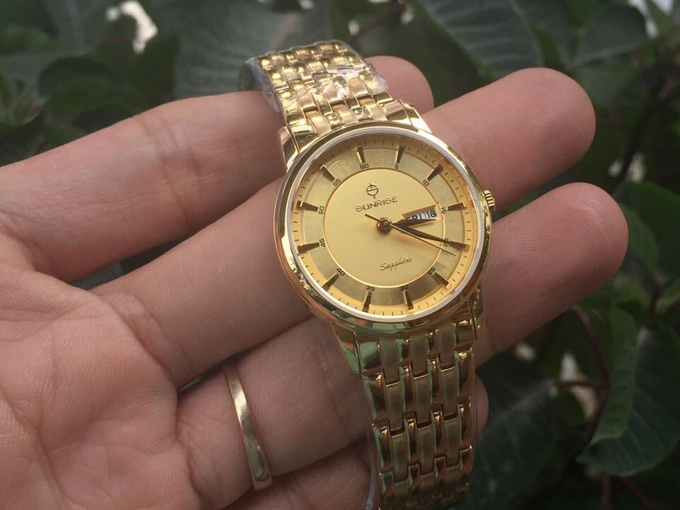đồng hồ nữ sunrise dm780swa