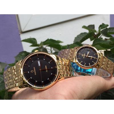Đồng hồ đôi sunrise dm780swa - kd chính hãng