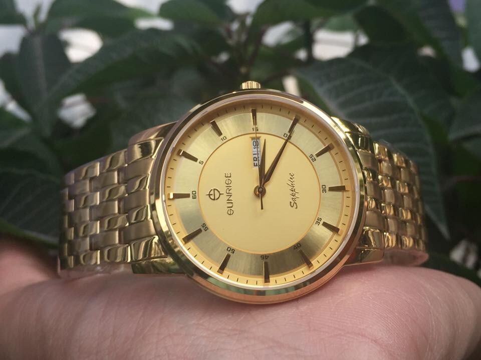 Đồng hồ nam sunrise dm780swa - kv chính hãng