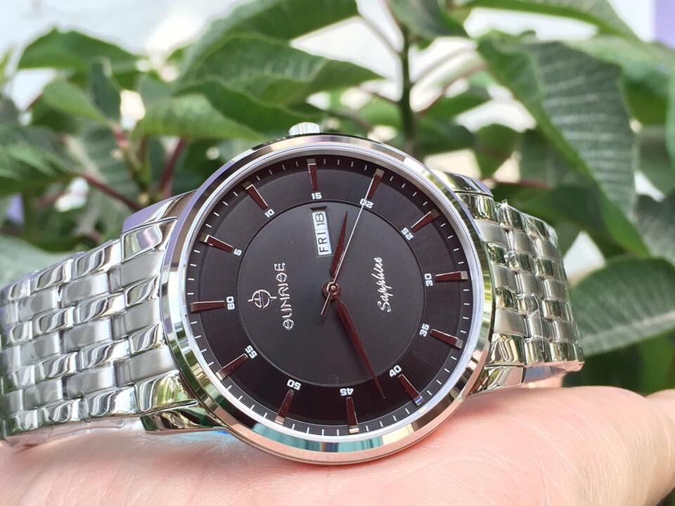 Đồng hồ nam sunrise dm780swa - ssd chính hãng