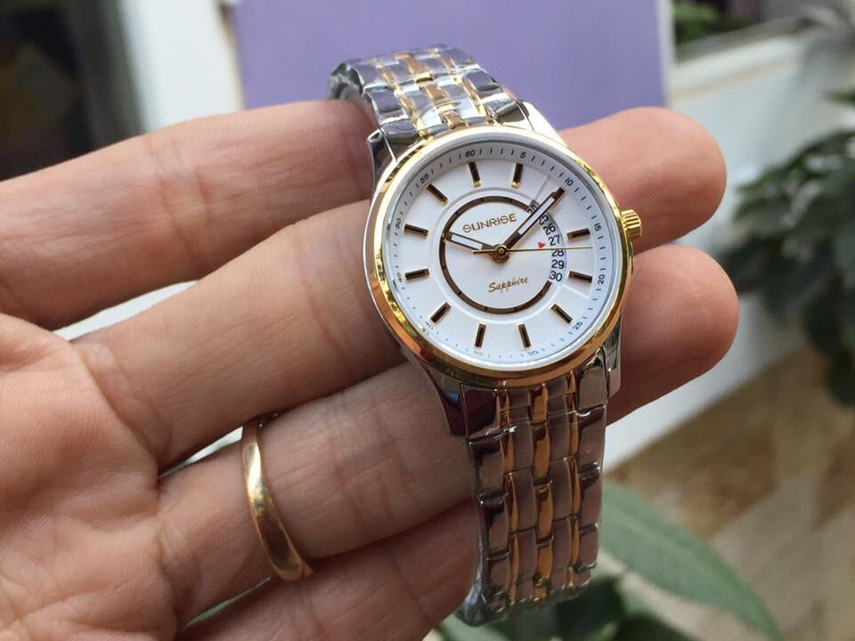 đồng hồ nữ sunrise dm781swa