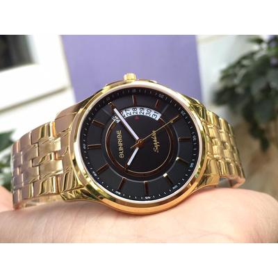 Đồng hồ đôi sunrise dm781swa - kd chính hãng