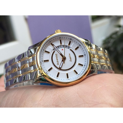 Đồng hồ nữ sunrise dm781swa - skt chính hãng