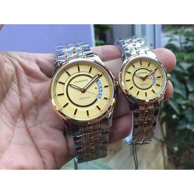 Đồng hồ đôi sunrise dm781swa - skv chính hãng