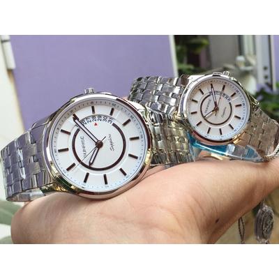 Đồng hồ đôi sunrise dm781swa - sst chính hãng