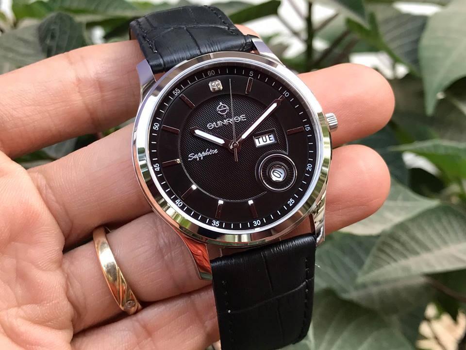 Đồng hồ nam chính hãng Sunrise DM782PWA - LD1A
