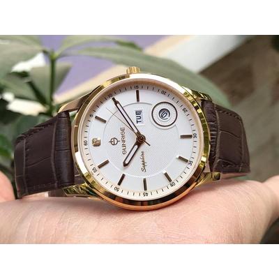 Đồng hồ nam chính hãng Sunrise DM782PWA - LG7A