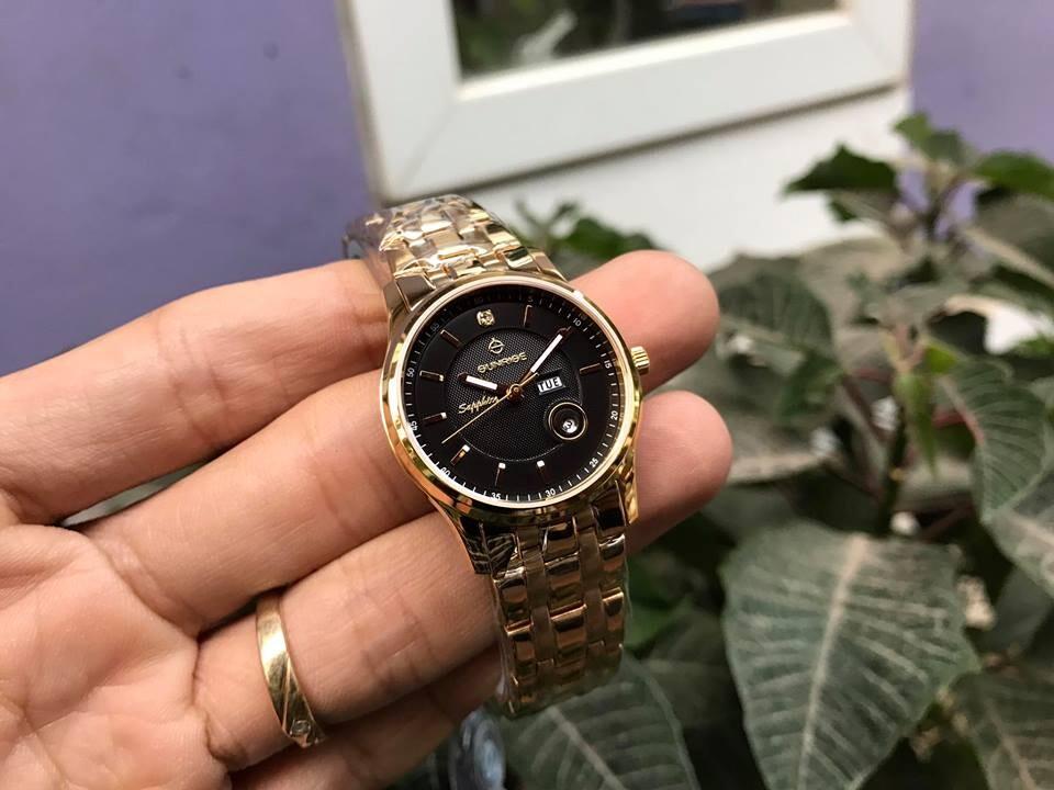 đồng hồ nữ sunrise dm782swa -kd chính hãng | hieutin.com