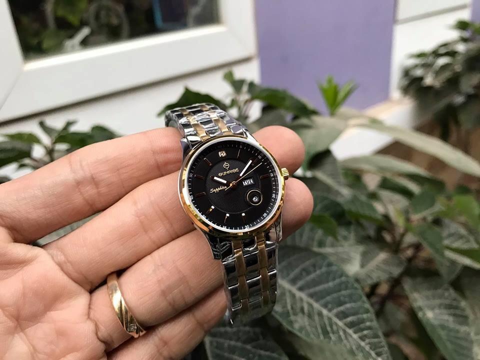 đồng hồ nữ sunrise dm782swa - skd chính hãng | hieutin.com