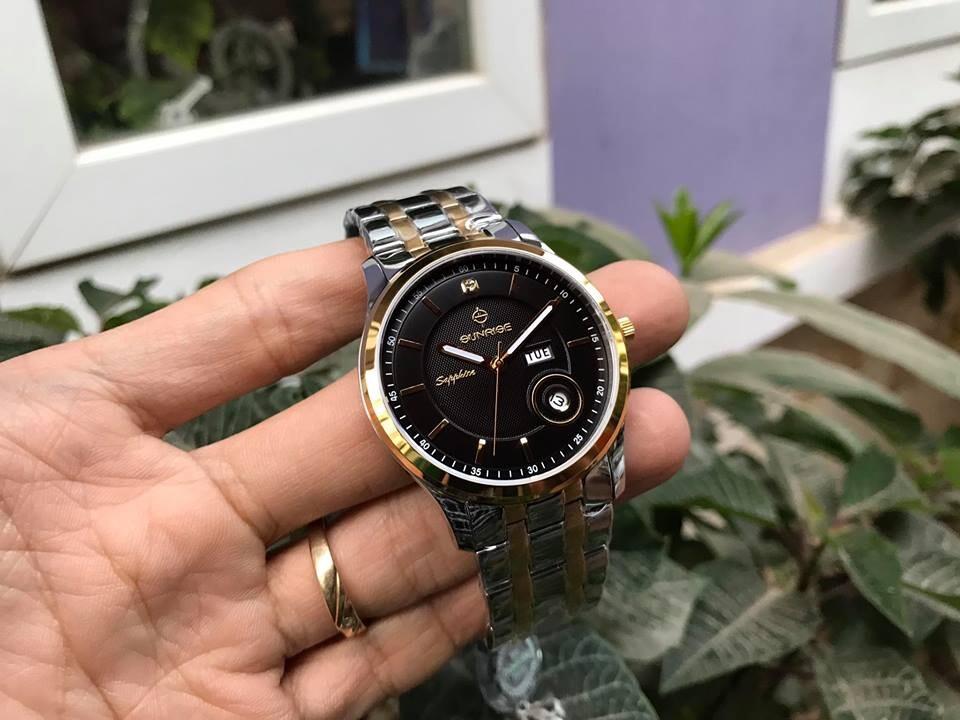 đồng hồ nam sunrise dm782swa - skd chính hãng | hieutin.com