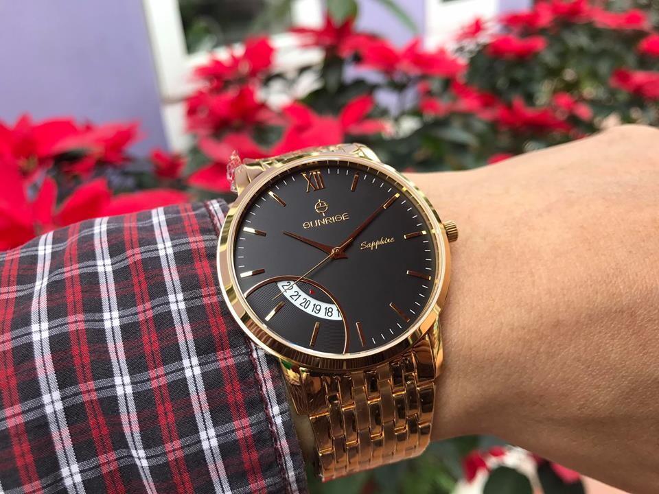 đồng hồ nam sunrise dm783swa - kd chính hãng | hieutin.com