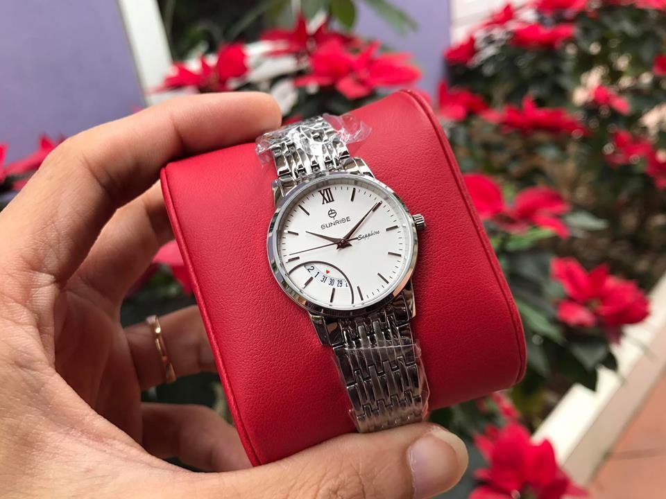 đồng hồ nữ sunrise dm783swa - sst chính hãng | hieutin.com
