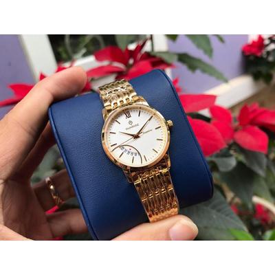 đồng hồ nữ sunrise dm783swa - kt chính hãng