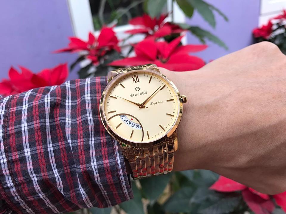 Đồng hồ nam sunrise dm783swa - kv chính hãng