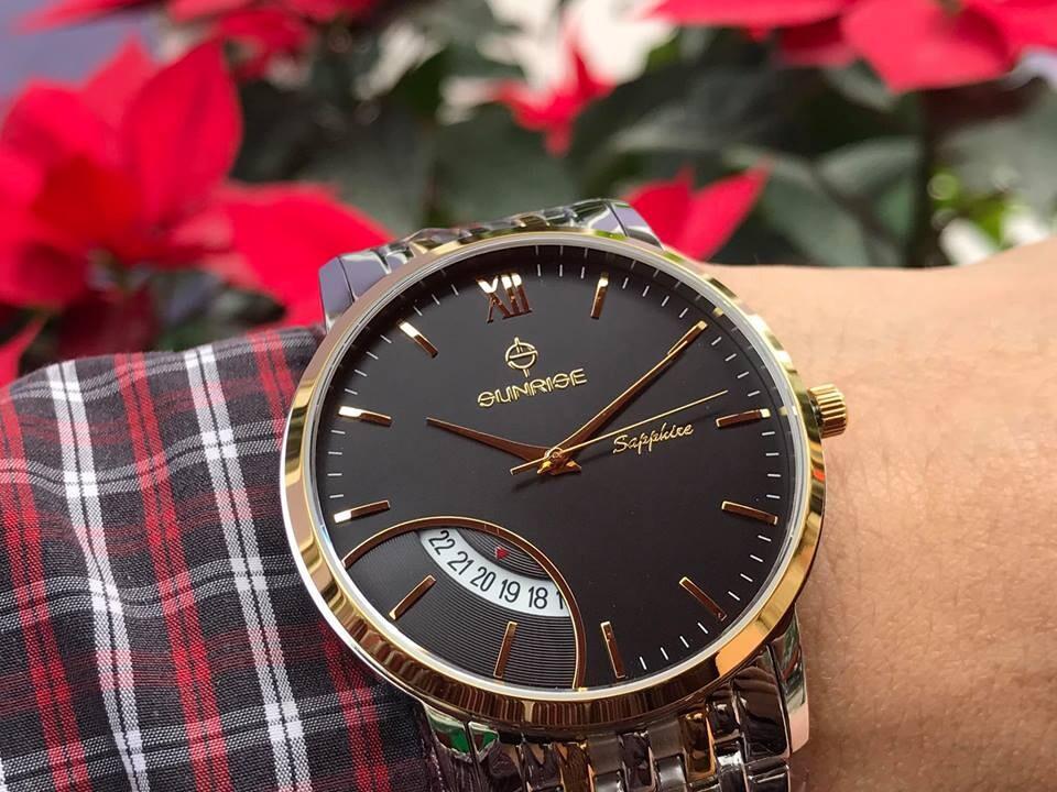 Đồng hồ nam sunrise dm783swa - skd chính hãng