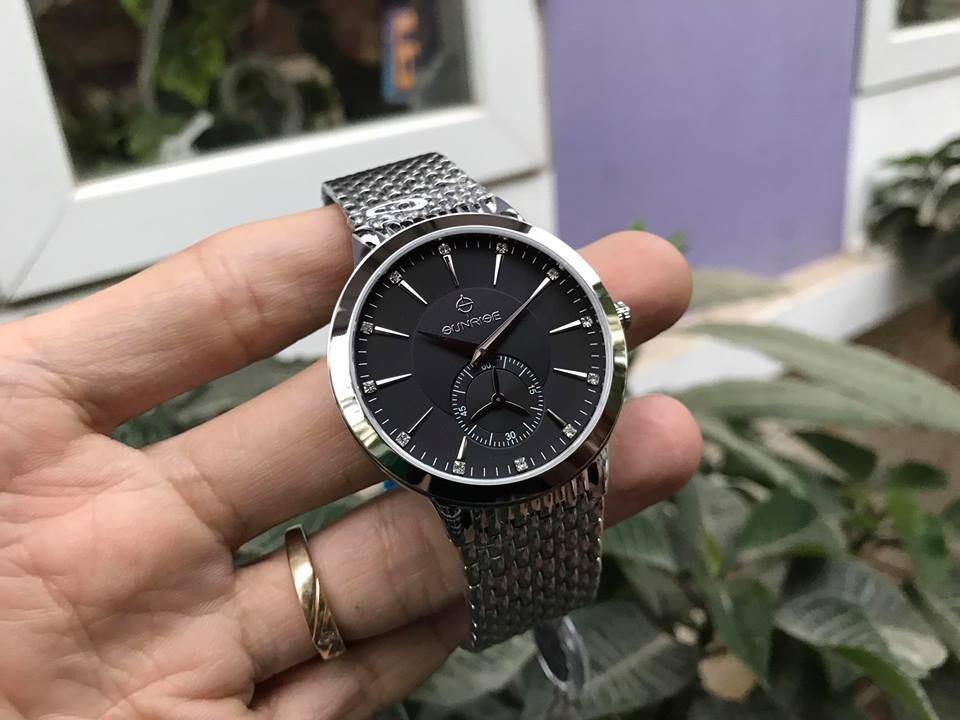 Đồng hồ nam sunrise dm784swa - ssd chính hãng
