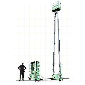 Thang nâng đôi GTWY8-2008 - Xe thang nâng người giá rẻ
