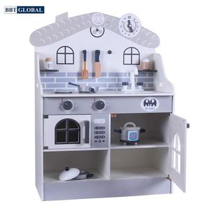 Đồ chơi mô hình BBT GLOBAL - Đồ chơi nấu ăn BBT Global bếp gỗ cao cấp - MSN19030