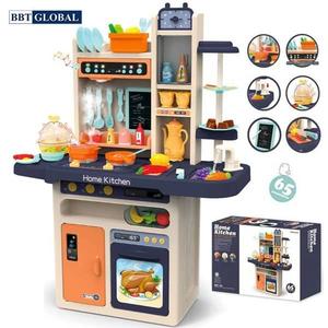 Đồ chơi mô hình BBT GLOBAL - Đồ chơi nấu ăn cỡ lớn cao cấp 93cm 65 chi tiết - 889-161